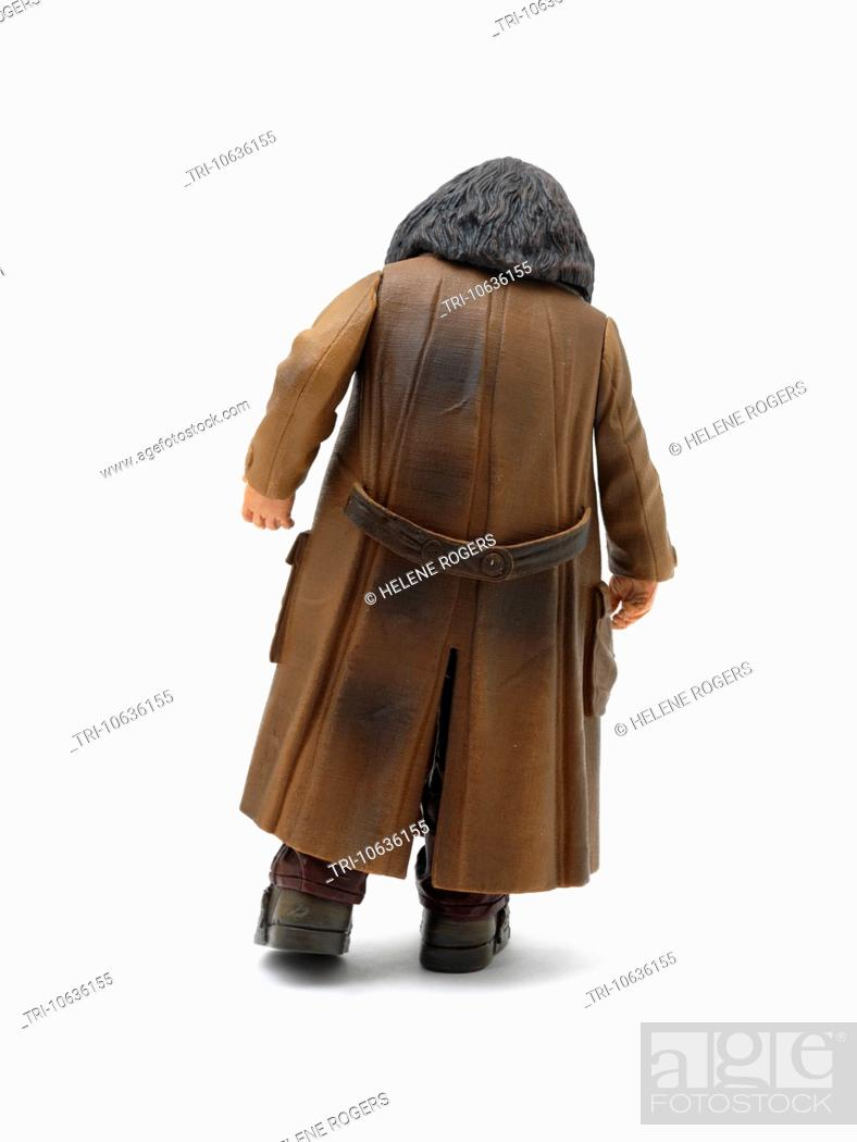 Back Of A Hagrid Doll From Harry Potter Stories, Stock Photo