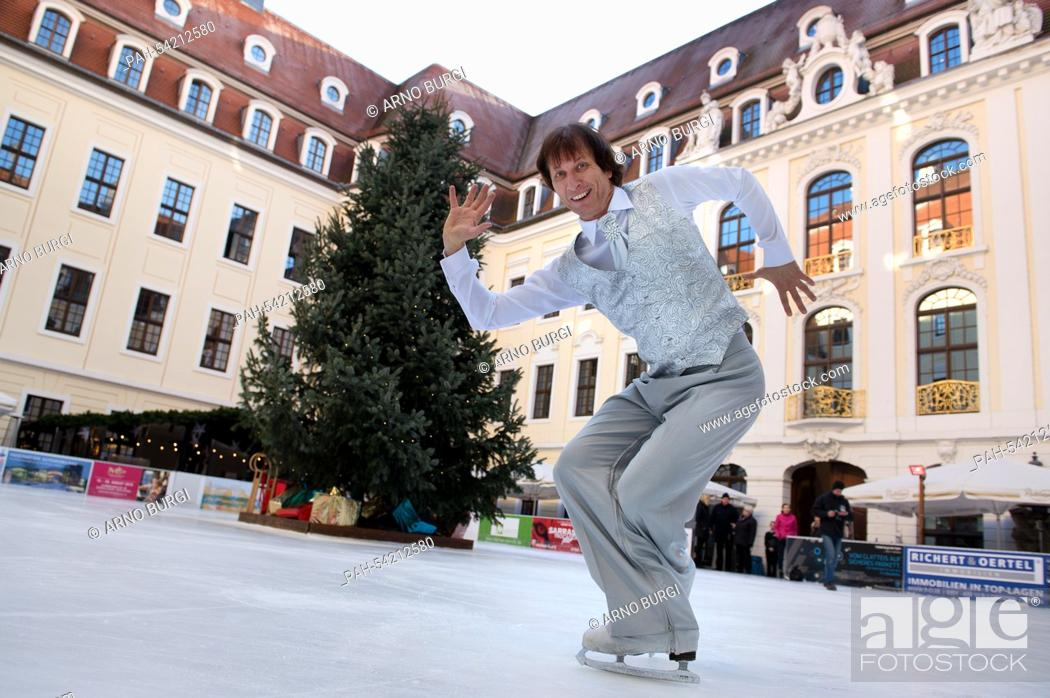 Figure Skating Legend And Holiday On Ice Star Norbert Schramm Skates In A Costume By Fashion Stock Photo Picture And Rights Managed Image Pic Pah 54212580 Agefotostock