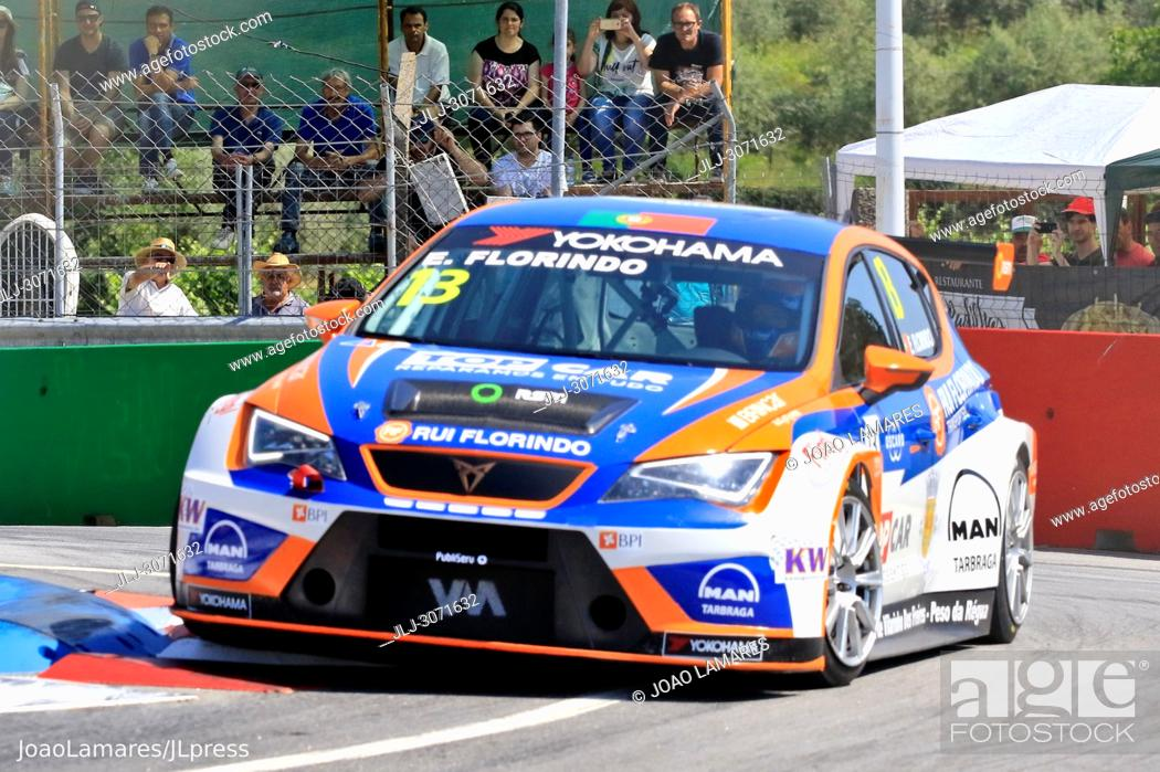Stock Photo: WTCR 2018: Vila Real. Race of Portugal, Pratice Action. Florindo, Cupra TCR, #13.