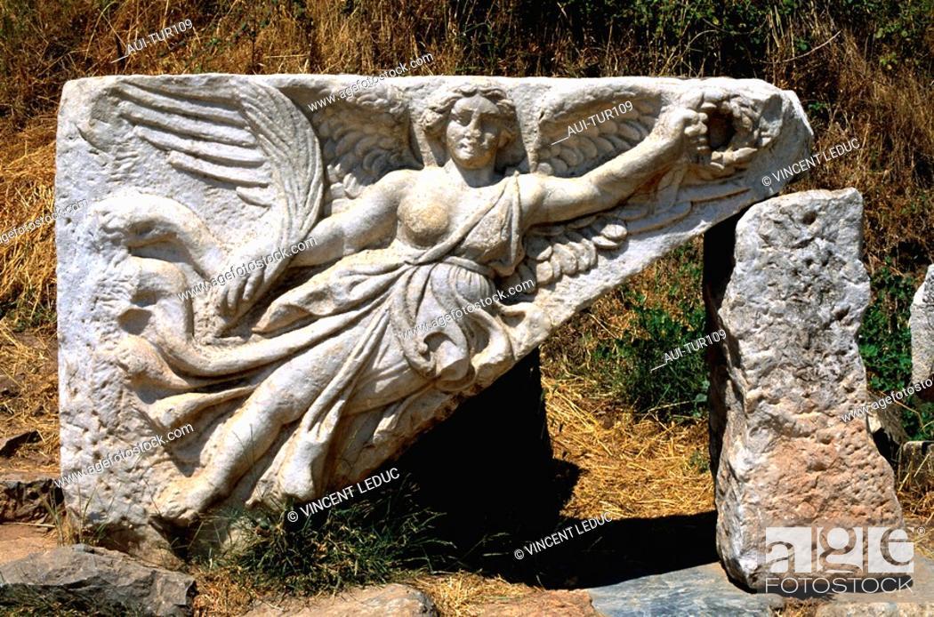 Stock Photo: Turkey - Mediterranean Coast - Izmir Region - Selcuk - Epheze.
