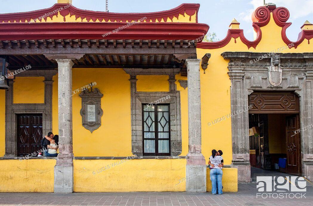 Casa De Cortes Casa Municipal Plaza Hidalgo Coyoacan Mexico
