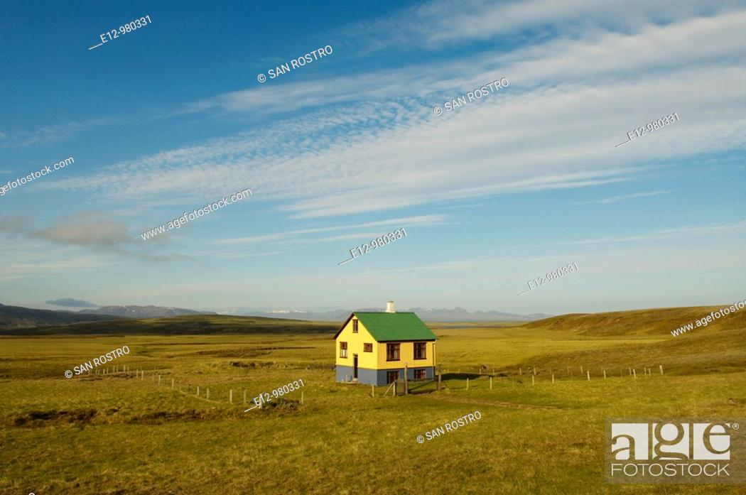 Stock Photo: Iceland, Thingvellir Valley.