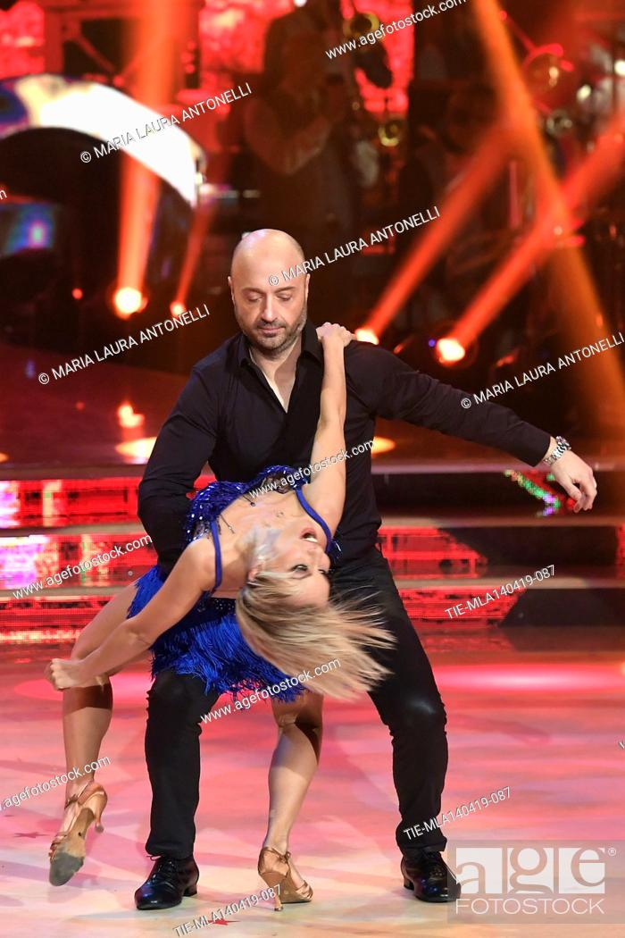 Stock Photo: Joe Bastianich during the performance at the talent show ' Ballando con le stelle ' (Dancing with the stars) Rome, ITALY-14-04-2019.