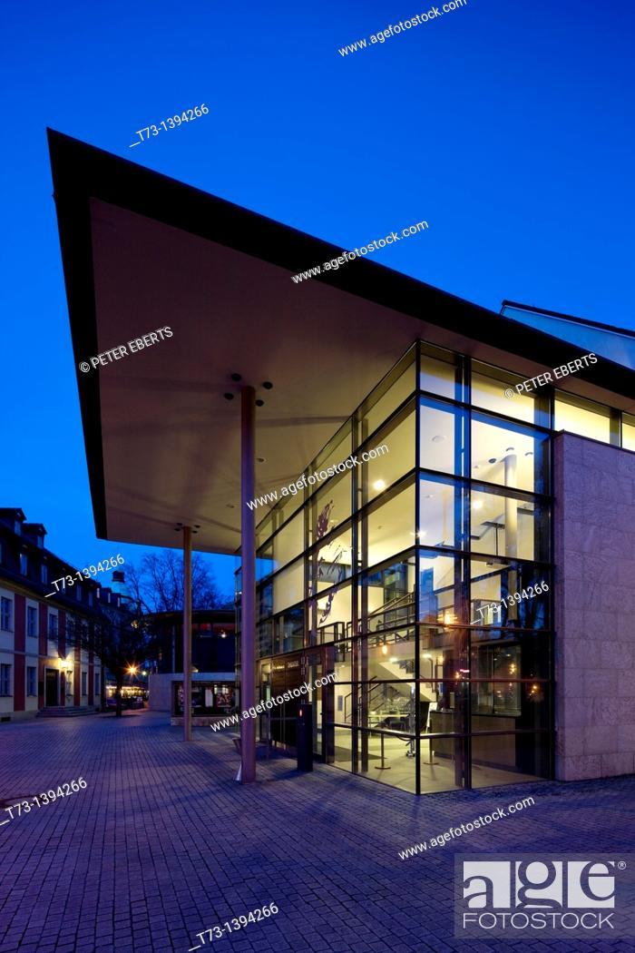 Stock Photo: E.T.A.-Hoffmann-Theater, Schillerplatz, Bamberg.