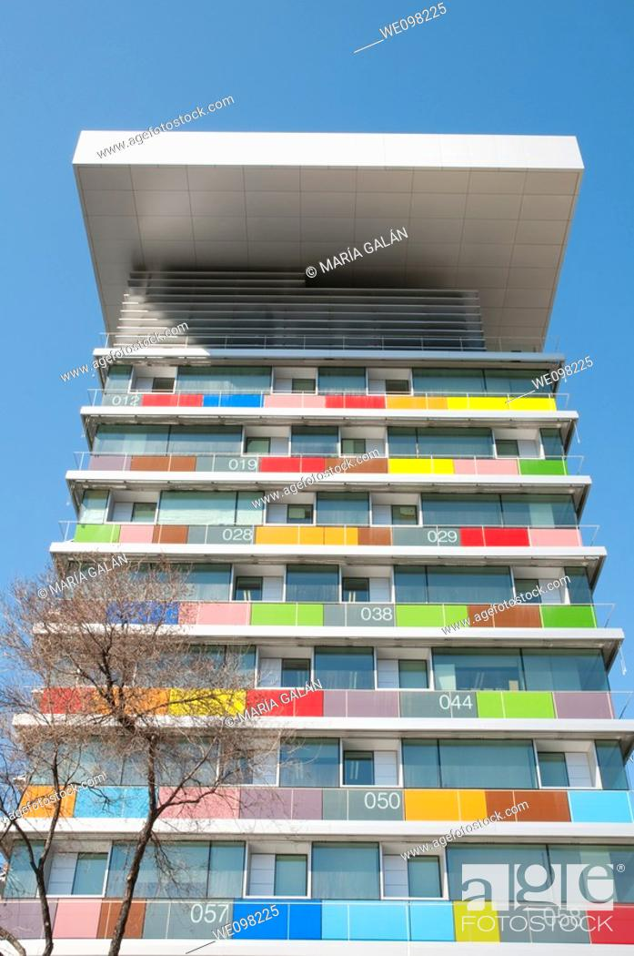 Imagen: INE building, Paseo de la Castellana. Madrid, Spain.