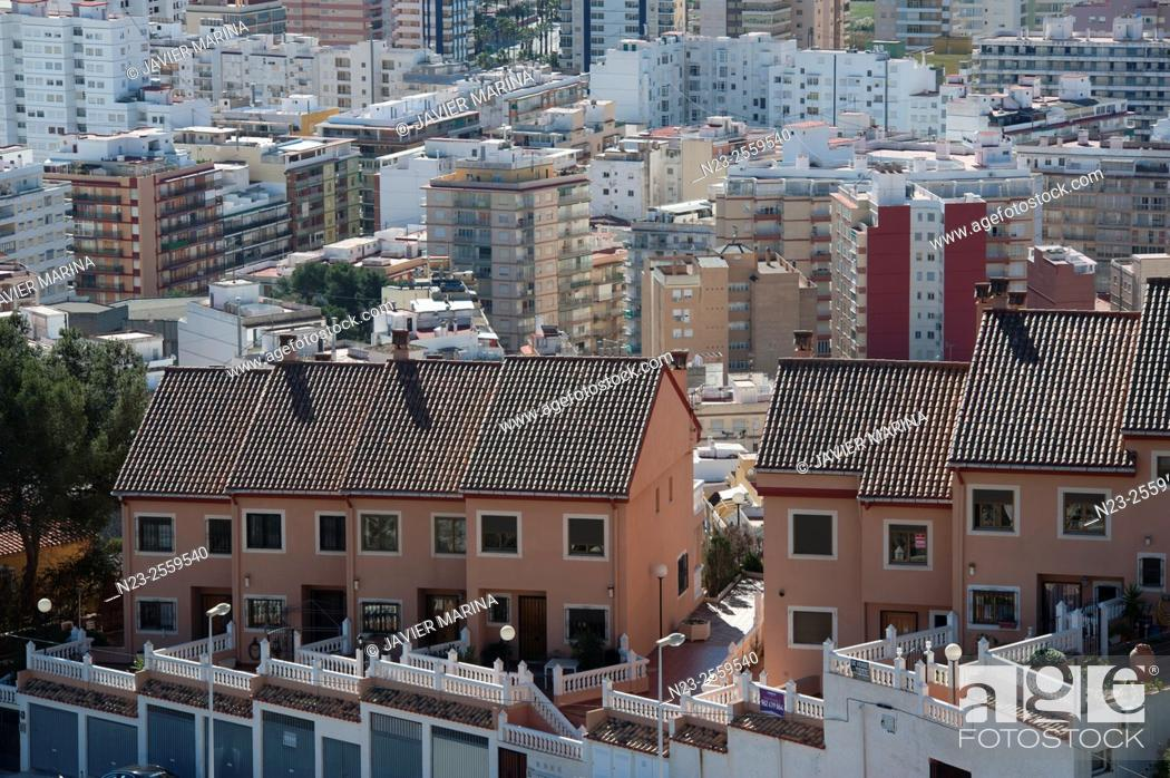 Stock Photo: Cullera, Valencia province, Comunidad Valenciana, Spain.