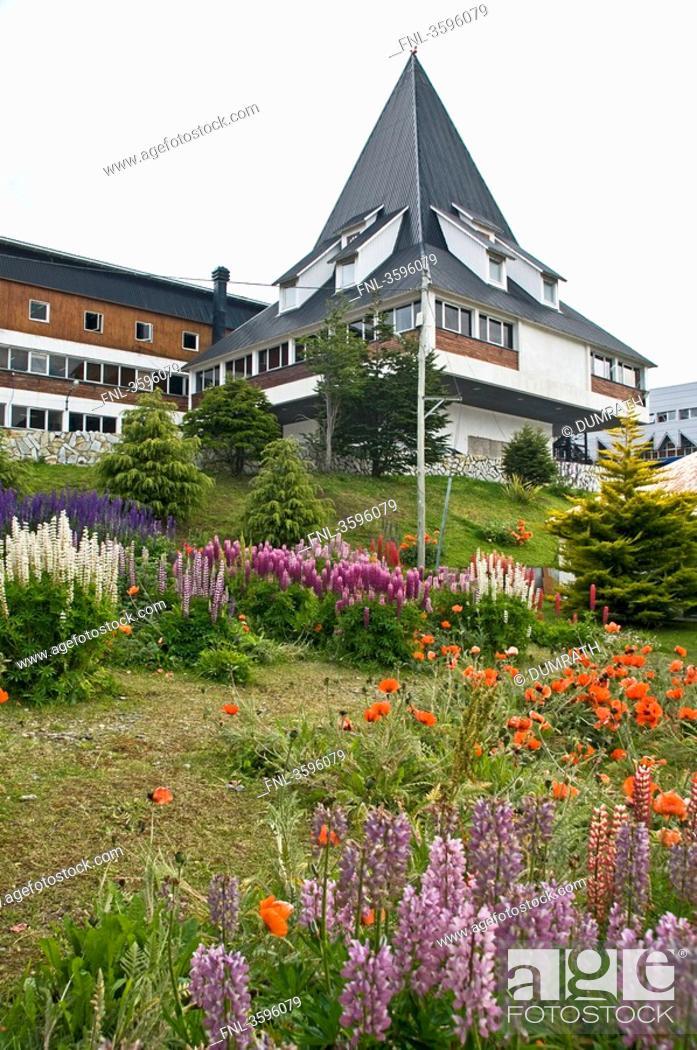Stock Photo: Tow hall of Ushuaia, Tierra del Fuego, Argentina.