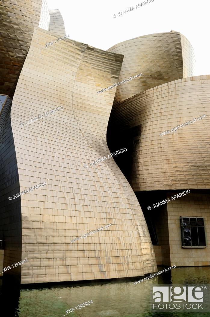 Stock Photo: Guggenheim museum, Bilbao.