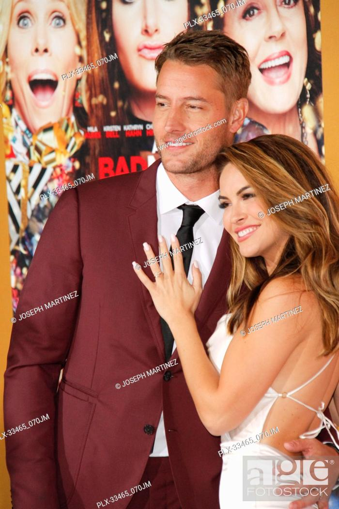 A Bad Moms Christmas Justin Hartley.Justin Hartley Chrishell Stause At The Premiere Of Stx