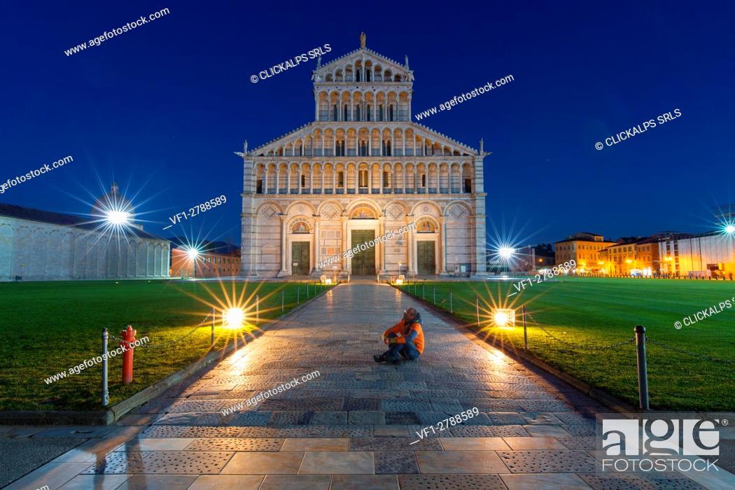 Stock Photo: Europe, Italy, Tuscany, Pisa.