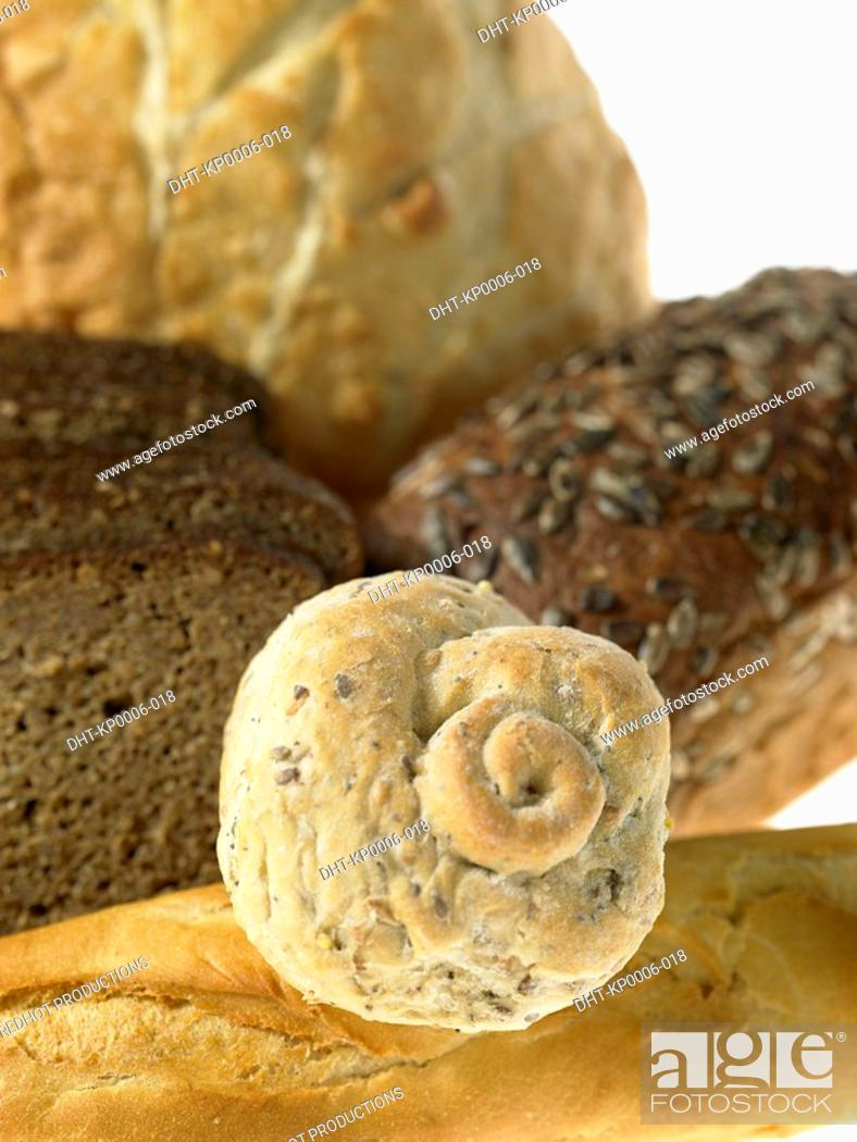 Stock Photo: Various kinds of Bread.