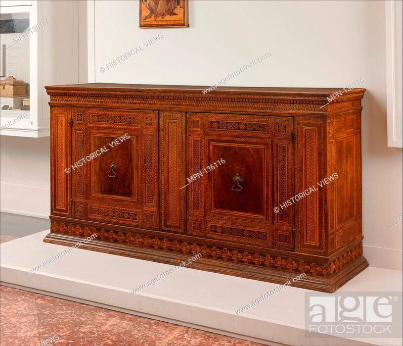 Sacristy Cabinet Date Ca 1450 80 Culture Italian Florence Or