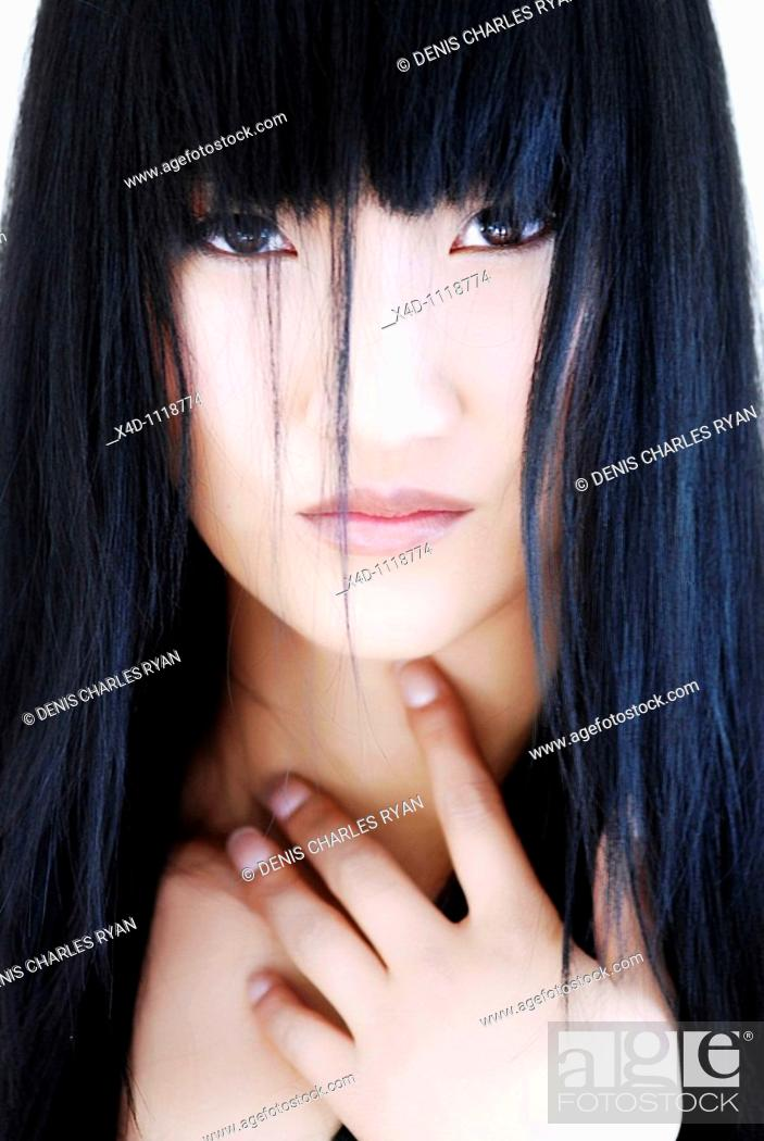 Stock Photo: Asian woman.