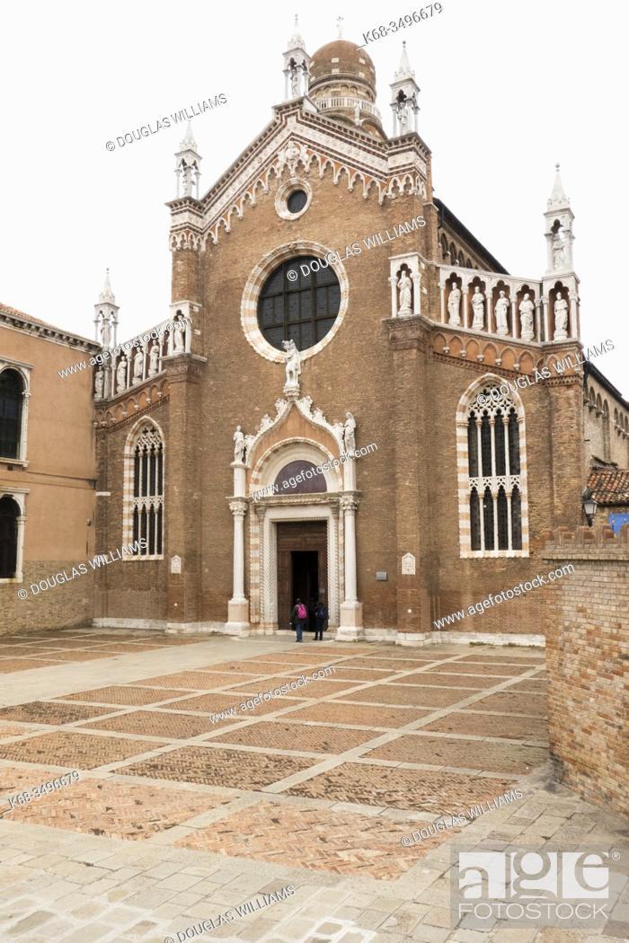 Imagen: Church of Madonna dell'orto in Venice, Italy.