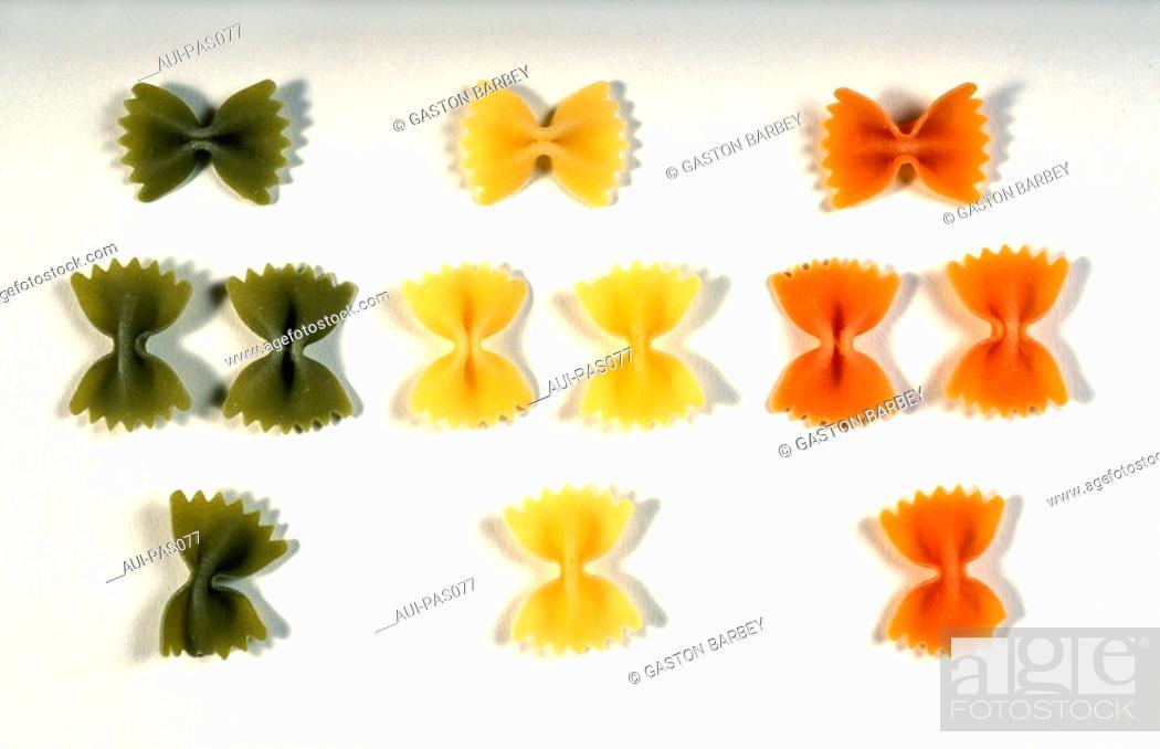 Stock Photo: Pasta - Farfalles.