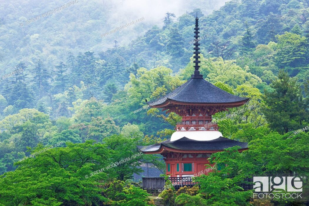 Imagen: Top of a Pagoda.