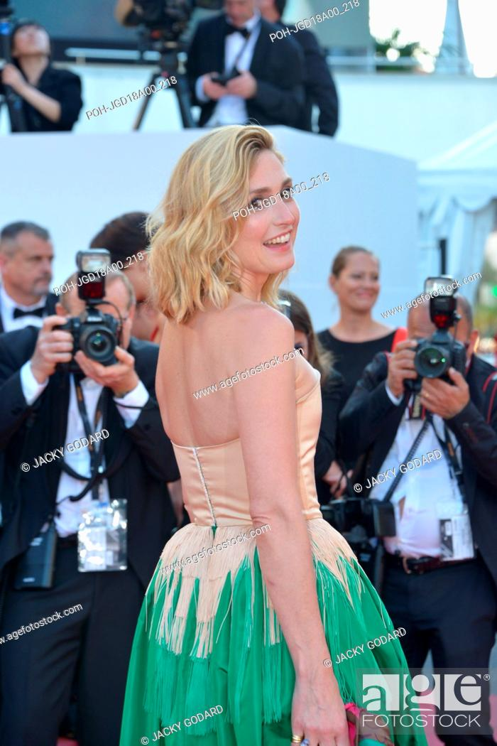 Stock Photo: Julie Gayet Arriving on the red carpet for the film 'Ash Is Purest White' (Jiang hu er nv) 71st Cannes Film Festival May 11, 2018 Photo Jacky Godard.