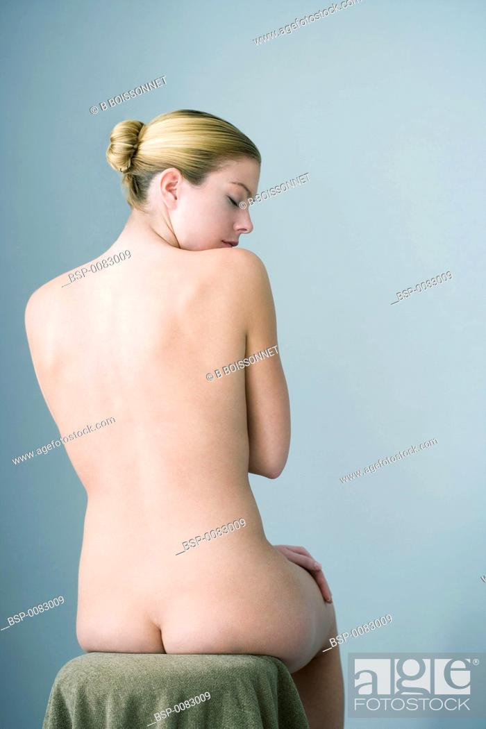 Stock Photo: NUDE WOMAN Model.