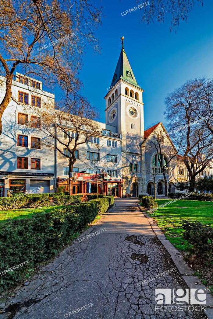 Stock Photo: Reformed Church, Bratislava, Slovakia.