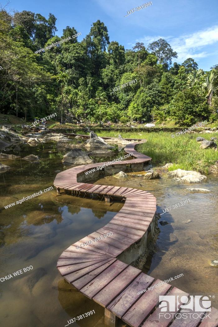 Stock Photo: Abba Paradise, Taiton, Bau, Sarawak, East Malaysia.