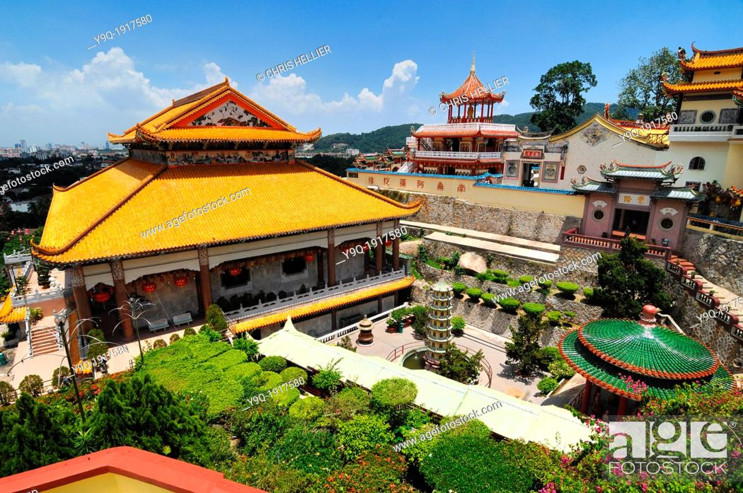 Stock Photo: Kek Lok Si Chinese Temple Penang Malaysia.