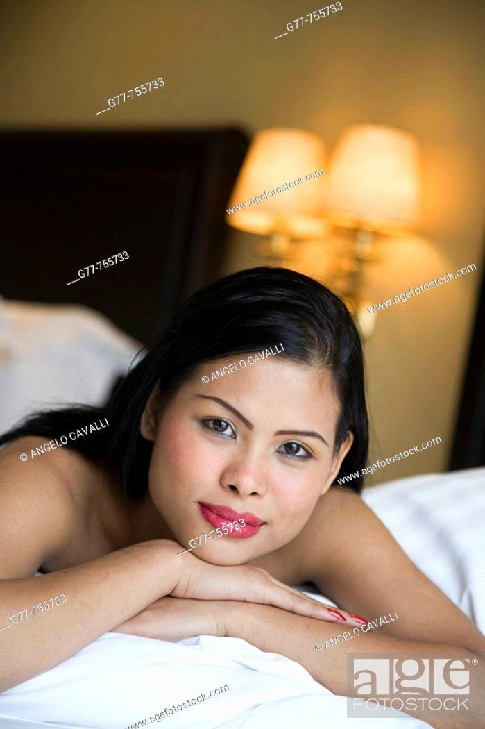 Stock Photo: Thailand  Bangkok  Thai Woman.