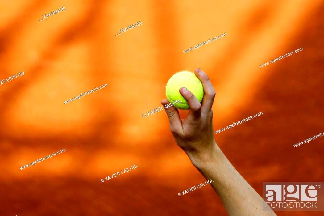 Stock Photo: tennis.