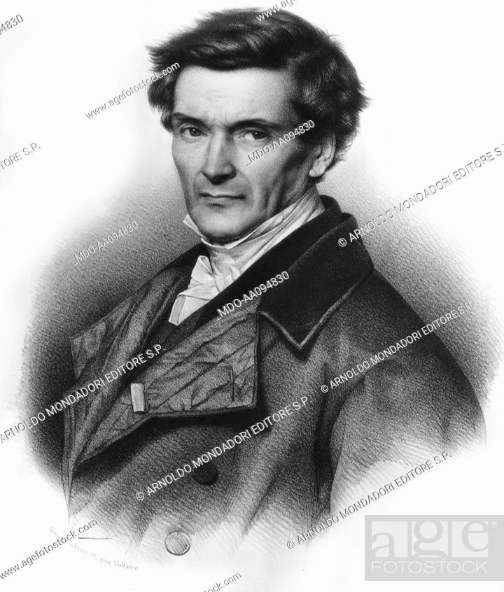 Imagen: Portrait of Gaspard Gustave de Coriolis.