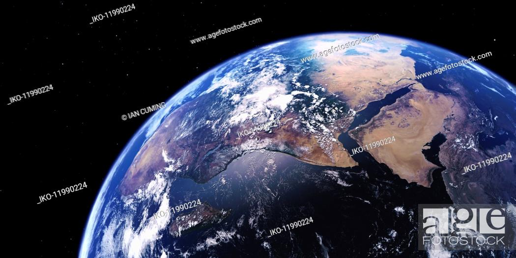 Imagen: East Africa, the Middle East and the Arabian Sea from space.