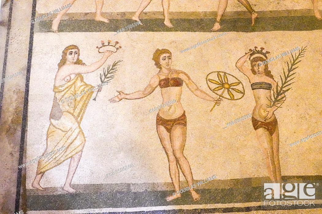 Imagen: Villa Romana del Casale, Sicily, Italy, near the town of Piazza Armerina.