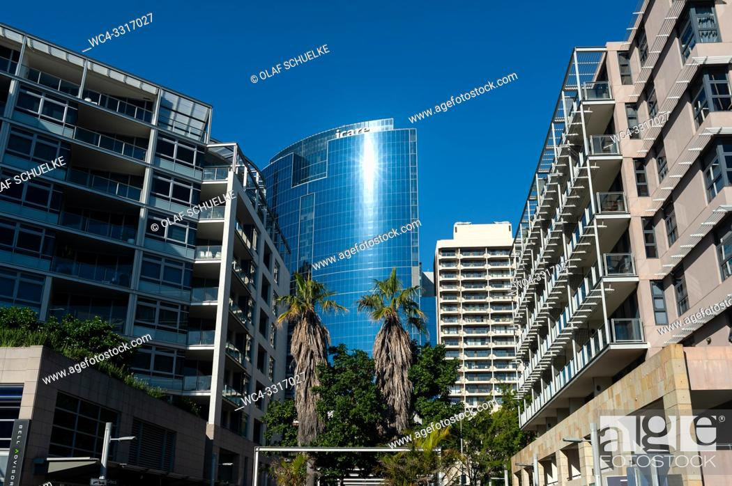 Imagen: Sydney, New South Wales, Australia - Modern apartment buildings in Barangaroo near Darling Harbour.