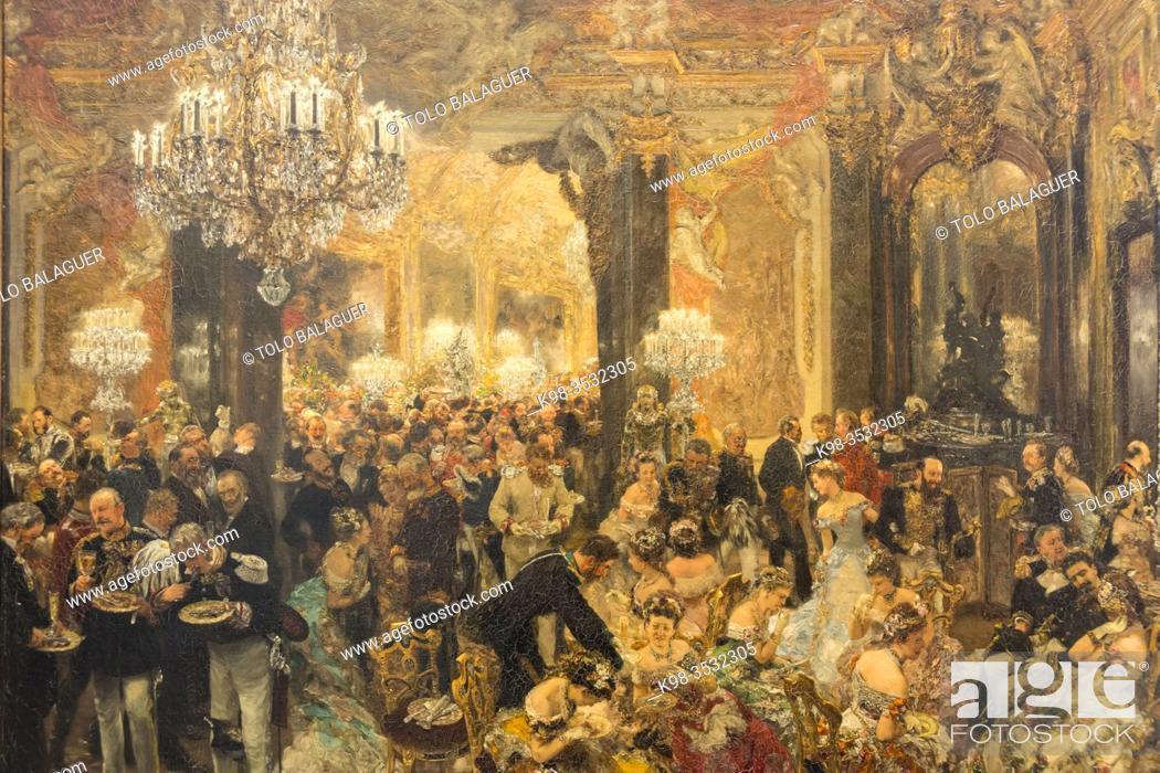 Stock Photo: Alte Nationalgalerie , Antigua Galería Nacional, Isla de los Museos, Berlin, Alemania, europe.