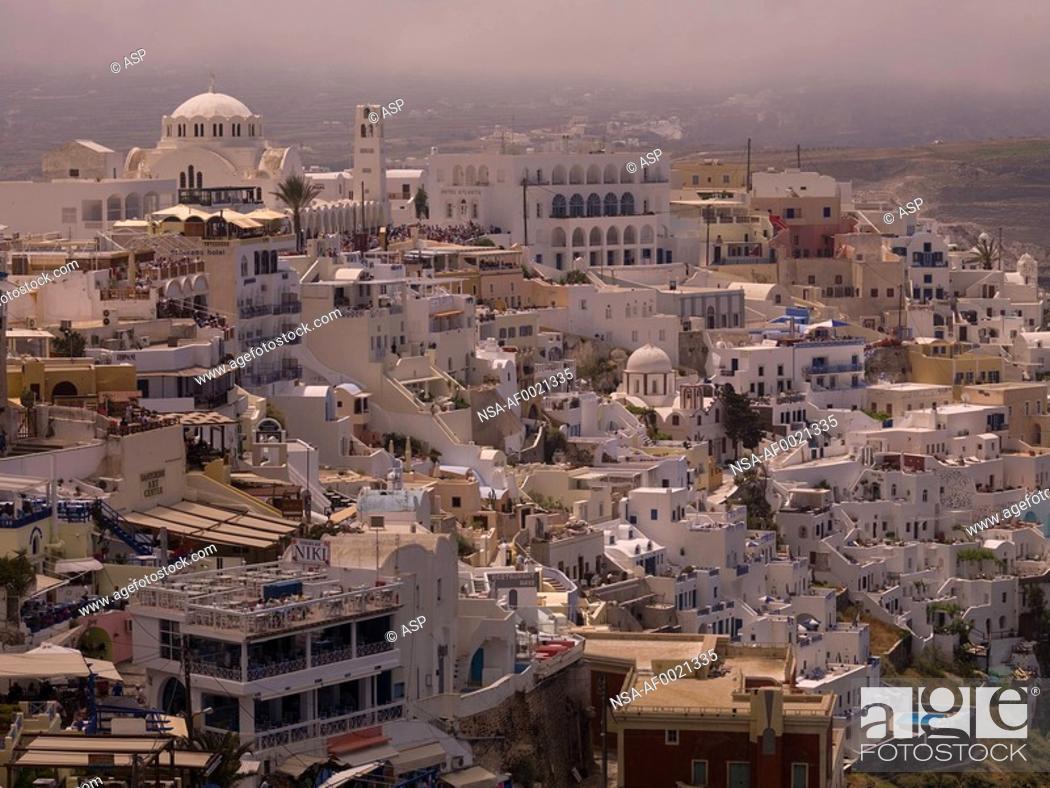 Stock Photo: Santorini, Greece.