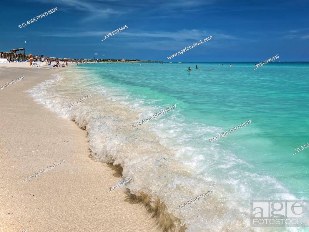 Stock Photo: Cuban beach, Cuba.