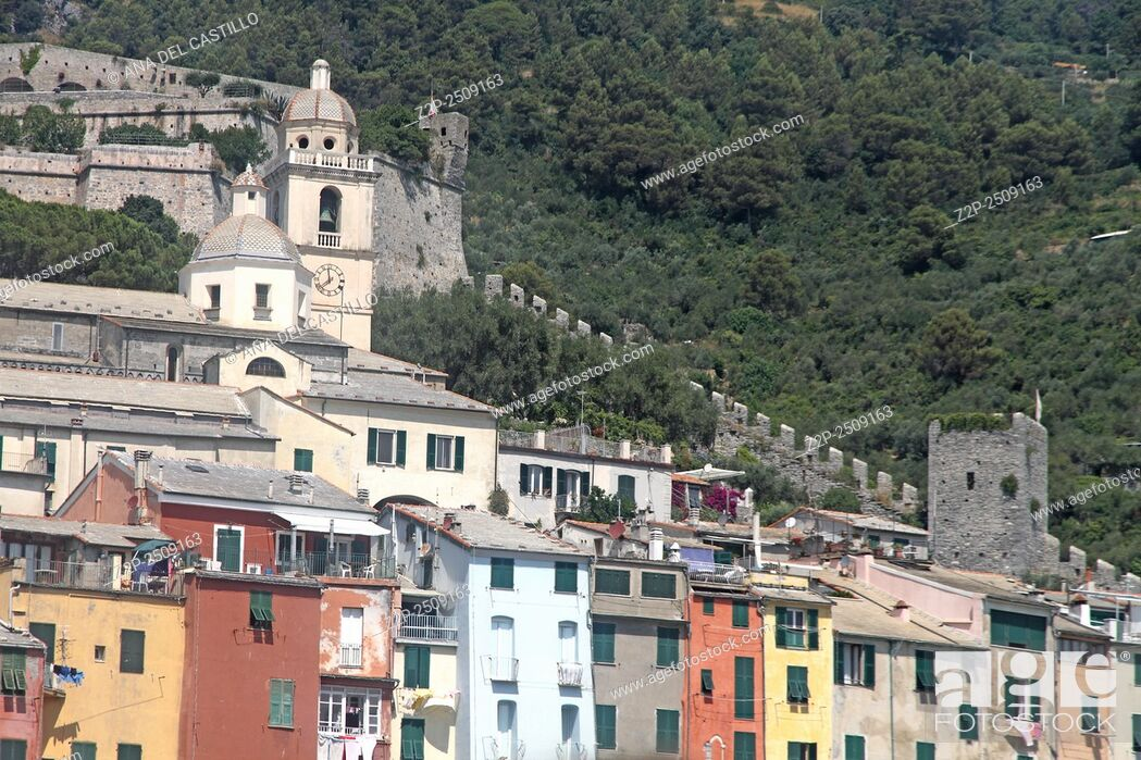 Stock Photo: Porto Venere Liguria La Spezia Italy.