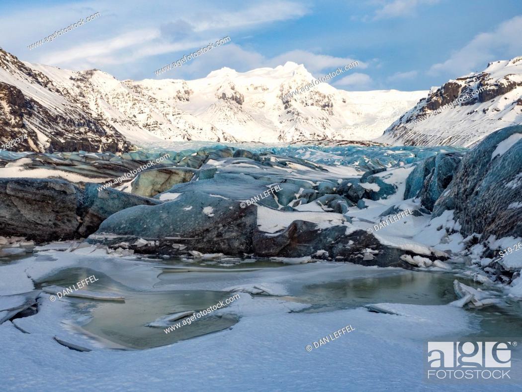Imagen: Iceland Skaftafellsjokull Glacier.