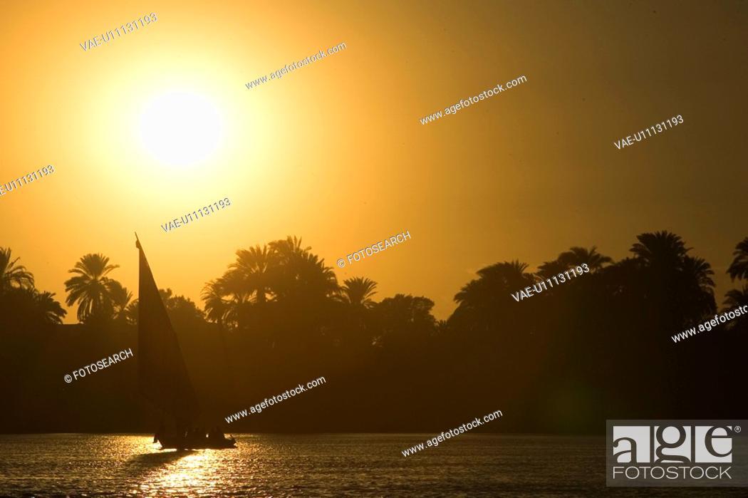 Stock Photo: Day, Lake, Lens Flare, Mode Of Transport.