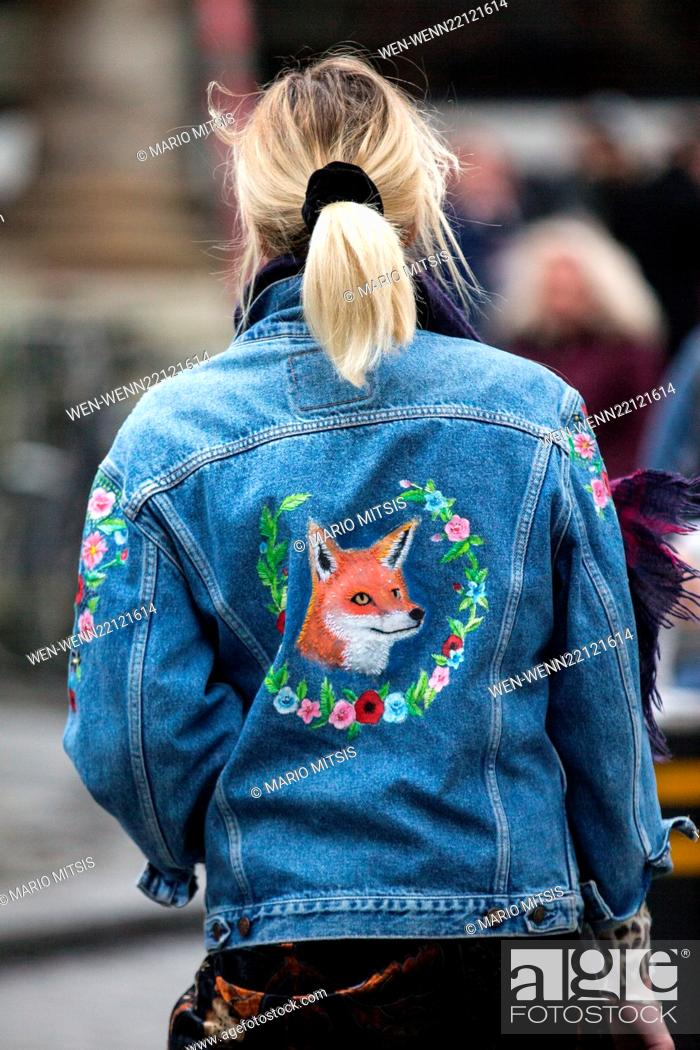 Stock Photo: Fearne Cotton leaving the BBC in Portland Place after hosting the Live Lounge on Radio 1 Featuring: Fearne Cotton Where: London.