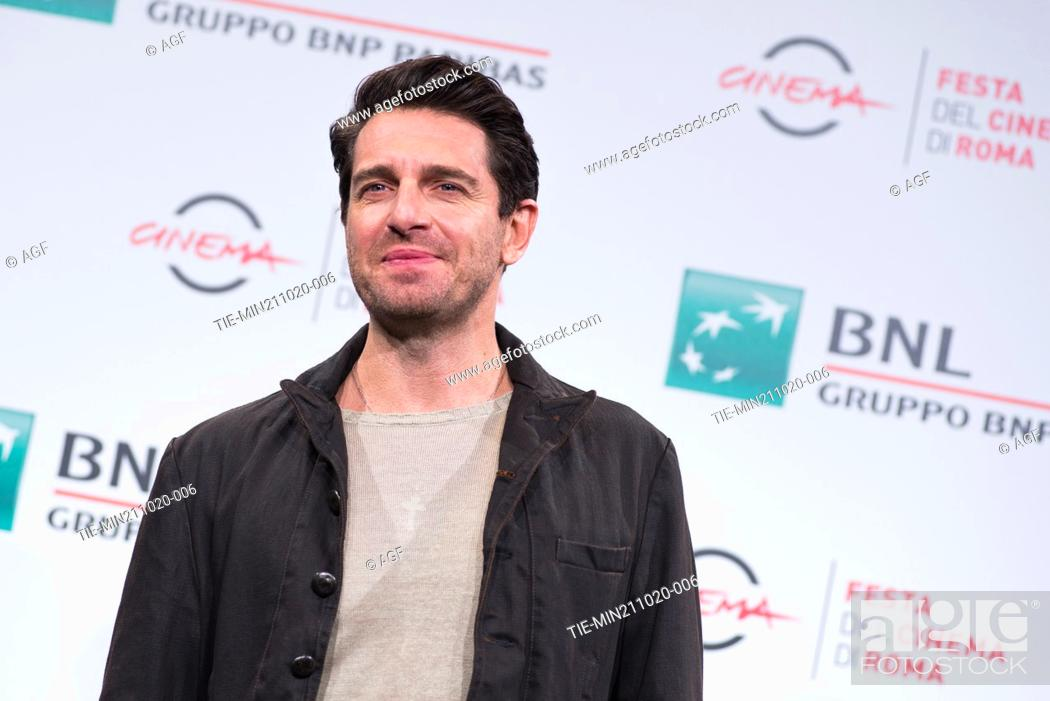 "Stock Photo: Giampaolo Morelli attend the photocall of the movie """"Maledetta Primavera"""" during the 15th Rome Film Festival on October 21, 2020 in Rome, Italy."