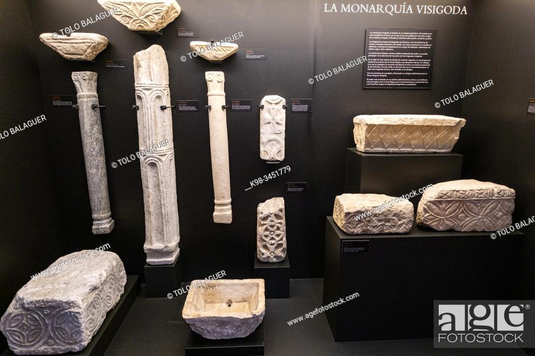 Stock Photo: Museo de los Concilios y la Cultura Visigoda, Iglesia de San Román, Toledo, Castilla-La Mancha, Spain.