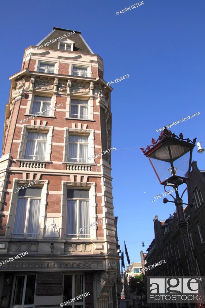 Stock Photo: NH Doelen Hotel Amsterdam.