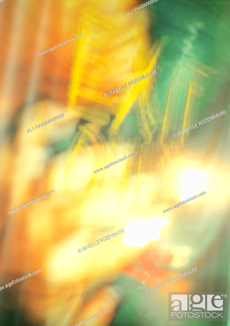 Stock Photo: Abstract composite, close-up.