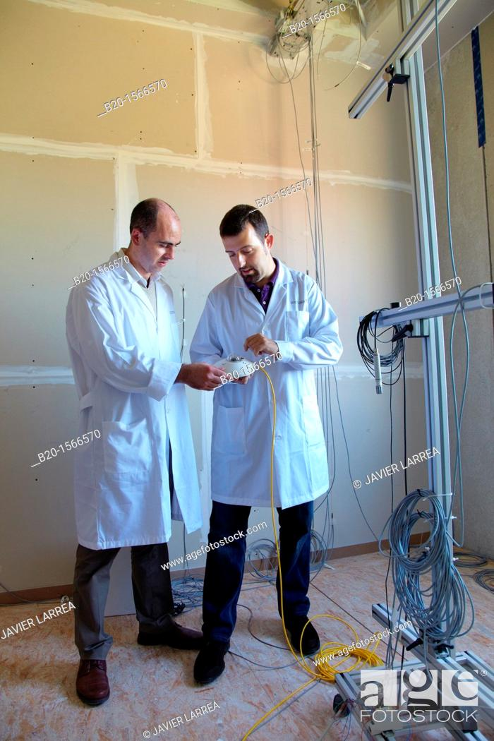 Stock Photo: Pyranometer, solar radiation sensor, Kubik, Experimental laboratory R & D + i for the development of new concepts, products and services to improve energy.