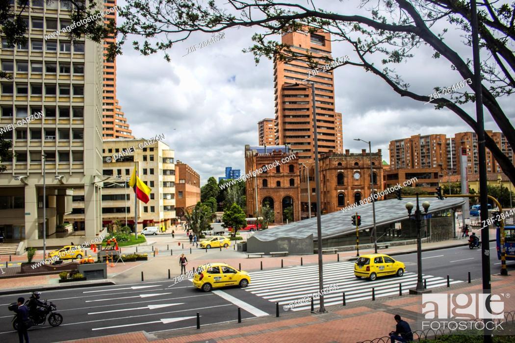 Photo de stock: A cloudy day in Bogotá.