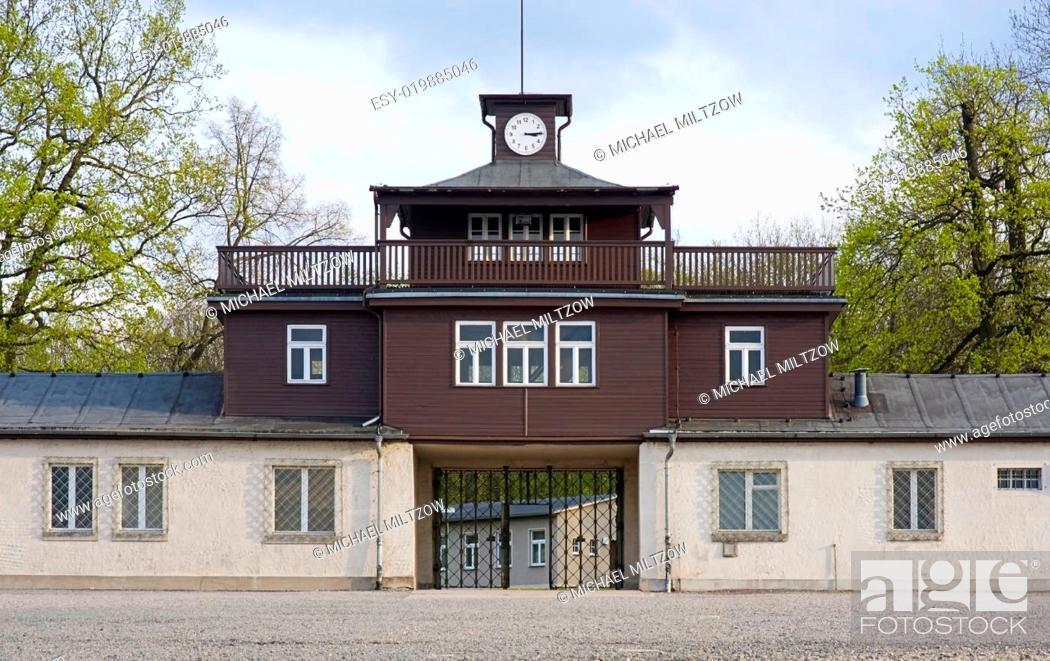 Stock Photo: KL Buchenwald.