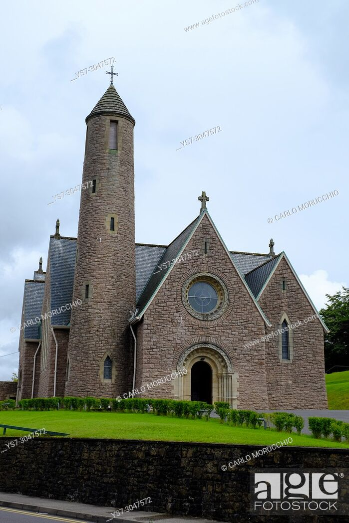 Stock Photo: St Patrick's Church, Donegal, County Donegal, Ireland, Europe.