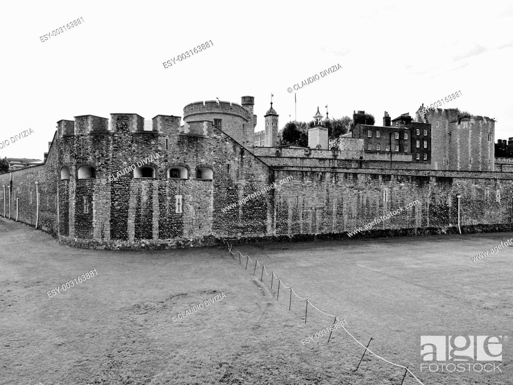 Stock Photo: Tower of London.