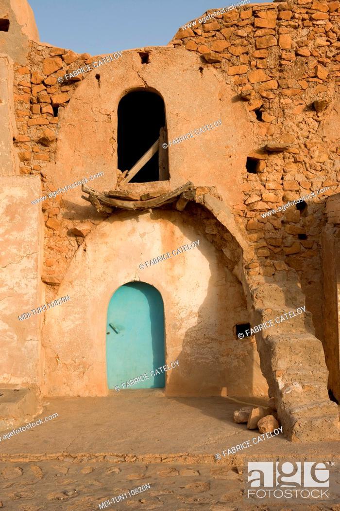 Stock Photo: Tunisia - Ksar Ez-Zahra - Ksar used to store goods for men and animals.