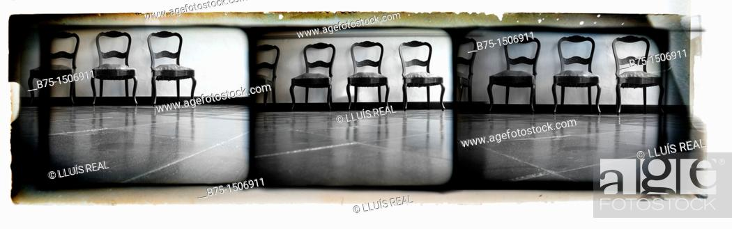 Stock Photo: Chairs.