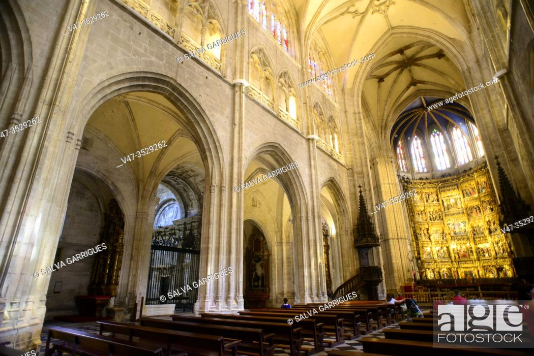 Imagen: Interior of the Cathedral of Oviedo, Asturias, Spain.